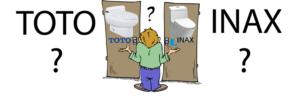 bồn cầu Inax hay Toto