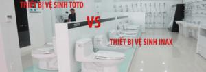 so sánh bồn caafh INAX và TOTO