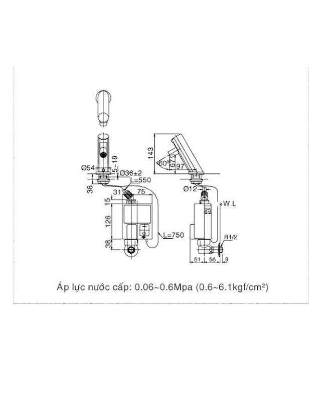 Hướng dẫn lắp đặt vòi xịt CFV-105MP toilet của Inax