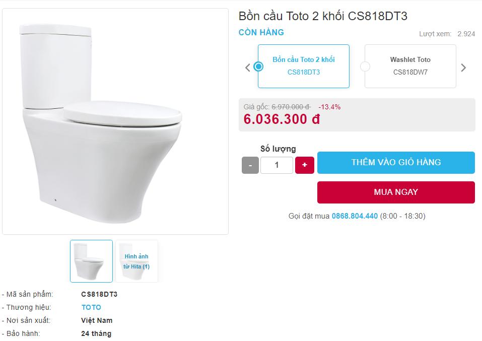 giá bán CS818DT3